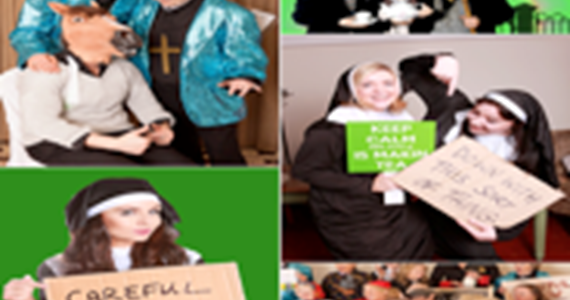 Father Ted Photoshoot Experience